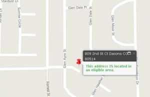 Dacono CO USDA property example