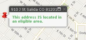 Salida, CO USDA eligible property